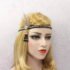 gatsby headband great gatsby headband flapper headband great gatsby