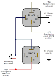 12v changeover relay wiring diagram wiring diagram and schematic