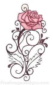 design flower rose drawing draw a flower designs rose draw image design download free image