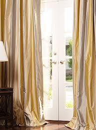 Striped Silk Fabric For Curtains Silk Drapes In Taffeta And Dupioni Silks Drapestyle