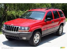 cherokee jeep 2000 1999 flame red jeep grand cherokee laredo 4x4 11894041 gtcarlot