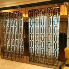 Metal Room Divider China Bronze Color Metal Room Divider Screen Partition For Hotel