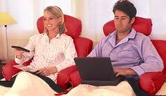 tv bed pillow bedlounge tv pillow makes television watching more enjoyable