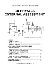 design experiment ib physics ib physics ia student guide uncertainty observational error