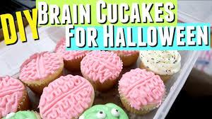 brain cupcakes decorating ideas for halloween youtube