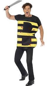 Honey Bee Halloween Costume Men U0027s Killer Halloween Costume Funny Bee Fancy Dress Costume