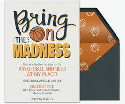 college invitations college basketball free online invitations evite