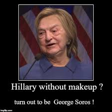 Meme Images Without Text - hillary without makeup imgflip