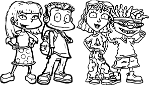 four children all grown up president coloring page wecoloringpage