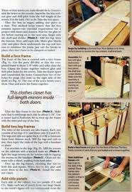 Armoire Furniture Plans Build Armoire Furniture Plans And Projects Woodarchivist Com