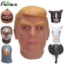 Sloth Animal Halloween Costume Shop President Donald Trump Party Costume Mask Celebrity