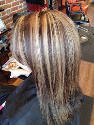 blonde hair with chunky highlights hair blonde chunky highlights in dark hair beautiful hairstyle