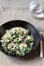 cuisine epinard ravioles sautées aux épinards noisettes grillées gourmandiseries