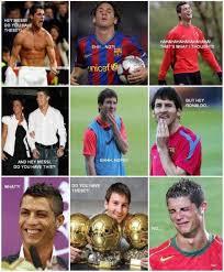 Funny Soccer Meme - 3 funny football soccer meme messi ronaldo tease pmslweb