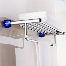 Navy Bathroom Accessories by Online Get Cheap Bathroom Accessories Crystal Bathroom Shelf