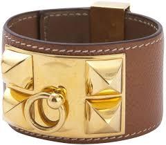 hermes bracelet leather images Hermes collier de chien leather bracelet luxury items on sale jpg