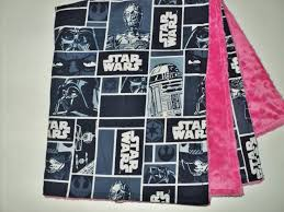 star wars baby blanket security blanket 19x23