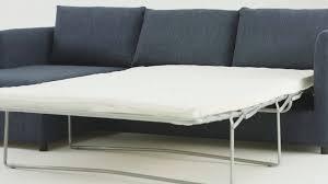 milner left hand facing corner storage sofa bed with memory foam