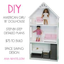 ana white smaller three story dollhouse for 18