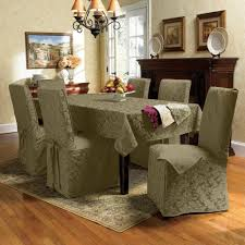 fabric chair covers dining room chair covers home decor gallery