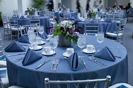 Black Blue And Silver Table Settings The Spicy Dish Blog Recipe Party Ideas Laspicecatering Com