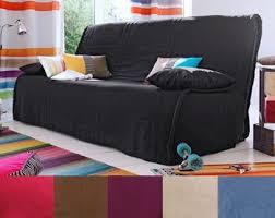 housse de canap clic clac matelass e housse clic clac design trendy rideaux marrons with housse clic