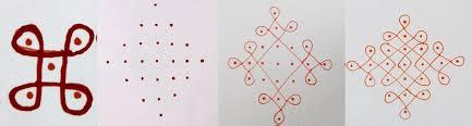 rangoli patterns using mathematical shapes simple rangoli designs with dots step by step lilcreativekids