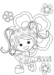 free printable team umizoomi coloring pages kids