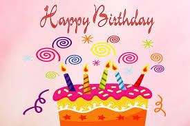 free birthday wishes free clipart happy birthday greetings clipartxtras
