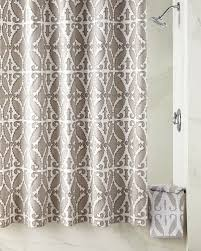 Silver Shower Curtains Designer Shower Curtains Fabric U0026 Floral At Horchow