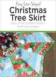 how to make a tree skirt you ll the seasoned