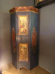 antique painted corner cabinet advice for your home decoration