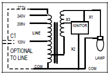 metal halide l circuit diagram 240 volt ballast wiring diagram wiring diagrams