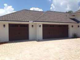 garage doors westchester ny amarr oak summit 3000 garage door installed in ponte vedra beach