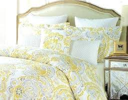 gray and yellow duvet covers gray and yellow paisley duvet cover