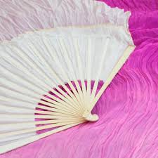silk fan cherry blossom silk veil fans festival flow moodhoops