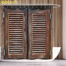 Western Style Shower Curtains Cool Shower Curtain Western Decor Collection Rustic West