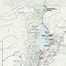 grand map maps grand teton national park u s national park service
