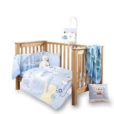girls nautical bedding clair de lune ahoy cot cot bed quilt and bumper set 2 pieces