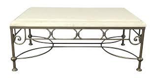 Kreiss Outdoor Furniture by Travertine Coffee Table By Kreiss Chairish