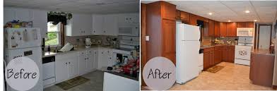 before and after kitchen cabinets unusual kitchen cabinet refacing diy and before after photos home