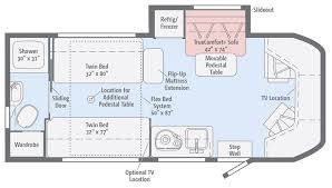 fuse floorplans winnebago rvs