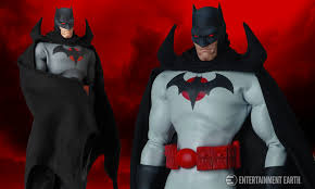 a new dark knight emerges with the dc flashpoint batman figure
