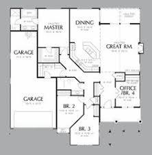 single story house plan i like the laundry near the master suite