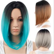 Bob Frisuren Ombre by Cheap Synthetic Hair Wigs Bob Wig Ombre Color 12inch Heat