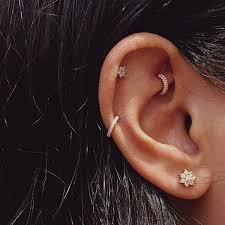 helix hoop earrings 90 helix piercing ideas for your trendiest self