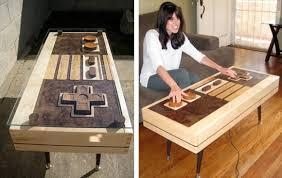 Nintendo Controller Coffee Table Nes Controller Life Size Coffee Table