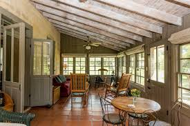 hill country dining room waterfront cottage texas hill country