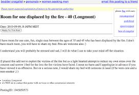 Seeking On Craigslist Craigslist Seeking Boulder Elephant Journal