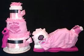 pink harley davidson diaper cake motorcycle tricycle